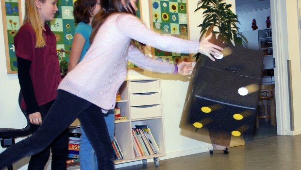 iMo Learn er arbejdstitlen på konceptudvikling af et skoleinventar, som fremmer fysisk aktivitet og »læring...